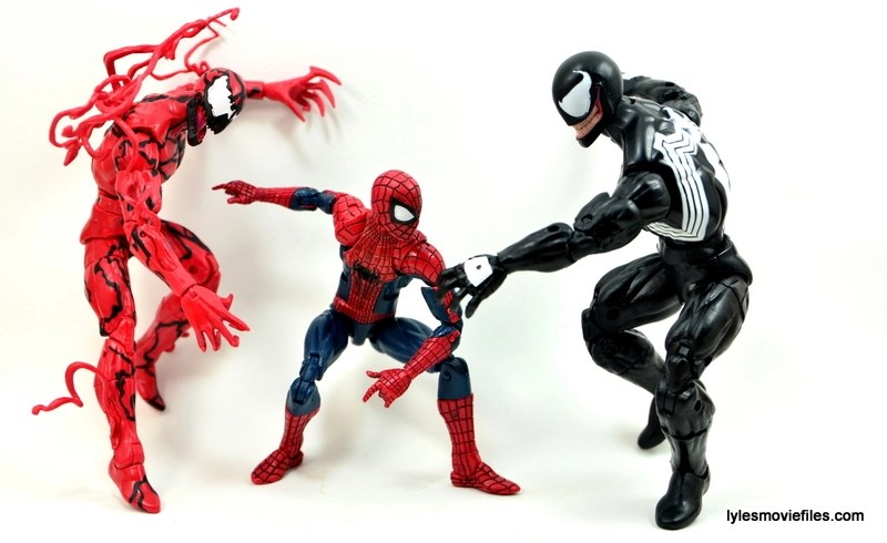 Marvel Legends Venom figure review - Maximum Carnage
