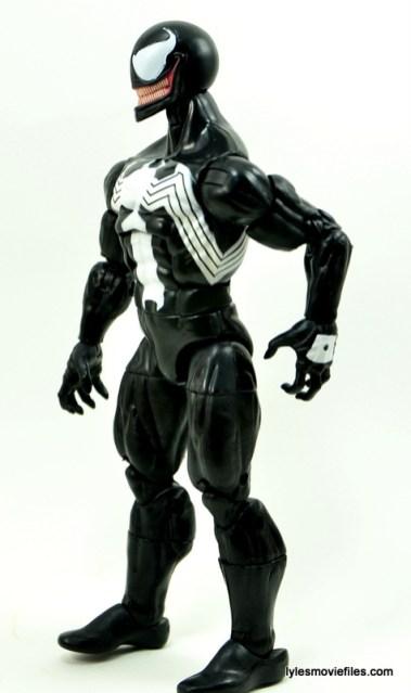 Marvel Legends Venom figure review - left side