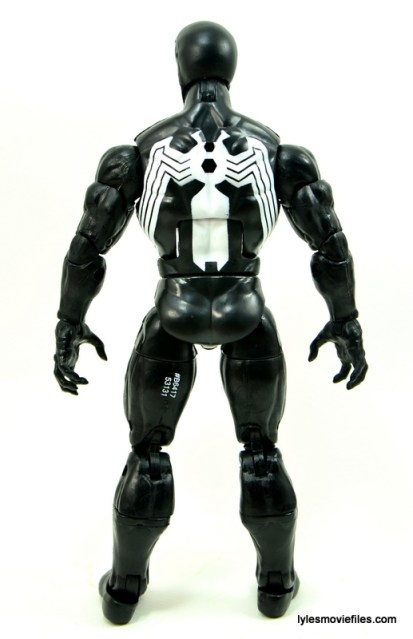 Marvel Legends Venom figure review - rear
