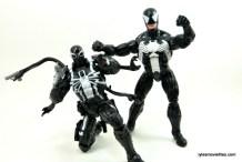 Marvel Legends Venom figure review - with Agent Venom