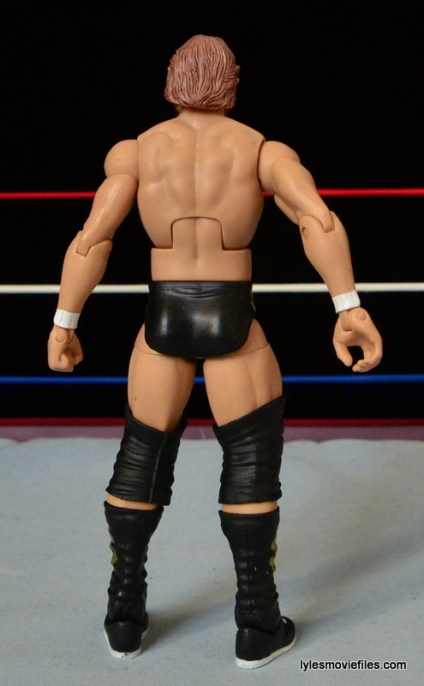 Mattel Ted DiBiase Hall of Fame figure review - rear