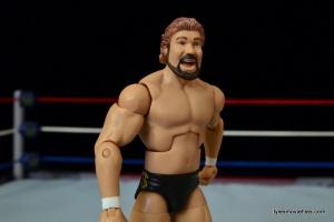 Mattel Ted DiBiase Hall of Fame figure review - side slant