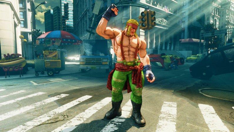 Street Fighter V - Alex - 05_Pose