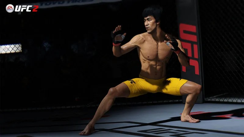 UFC 2 video game - Bruce Lee