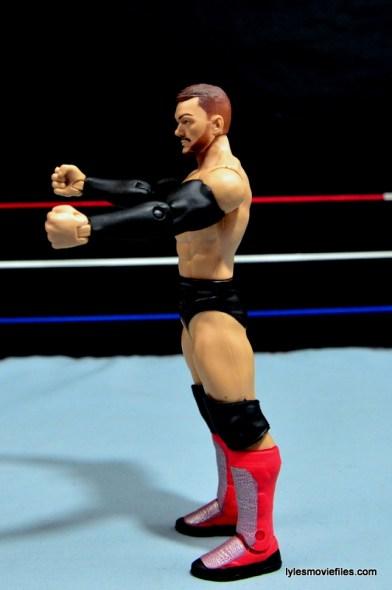 WWE Basic Finn Balor figure review -left side