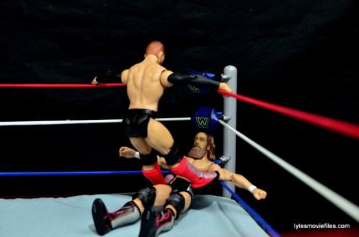 WWE Basic Finn Balor figure review -shotgun dropkick