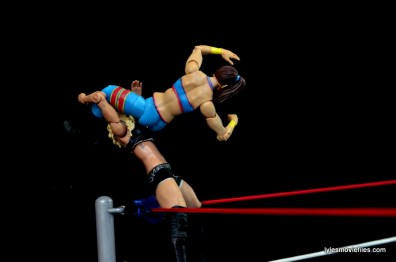 WWE Bayley figure review - huricarana to Charlotte
