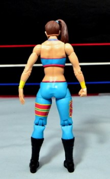 WWE Bayley figure review - rear