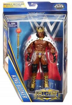 WWE Hall of Fame series 4 - Booker T in package