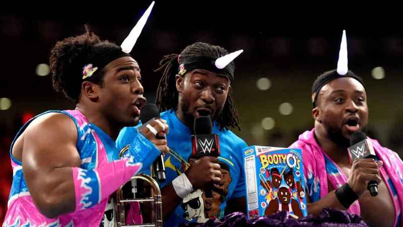 WWE Roadblock - New Day with Booty O's_5