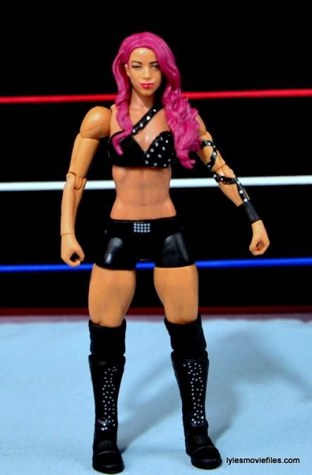 WWE Sasha Banks figure review - front