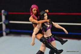 WWE Sasha Banks figure review - sleeper on Paige