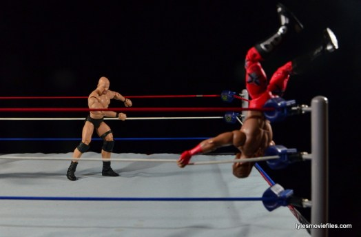 Wrestlemania 14 - Shawn Michaels vs Stone Cold - flipping HBK