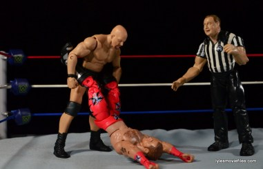 Wrestlemania 14 - Shawn Michaels vs Stone Cold - slingshot