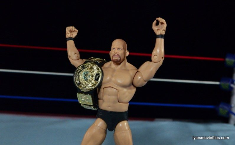 Wrestlemania 15 - The Rock vs Stone Cold -Austin is the new champ
