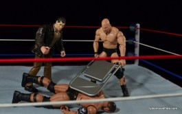 Wrestlemania 17 - The Rock vs Stone Cold - Austin and Vince beat down Rock