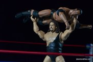 Wrestlemania 2000 - Mick Foley vs The Rock vs The Big Show vs Triple H - Big Show presses Rock