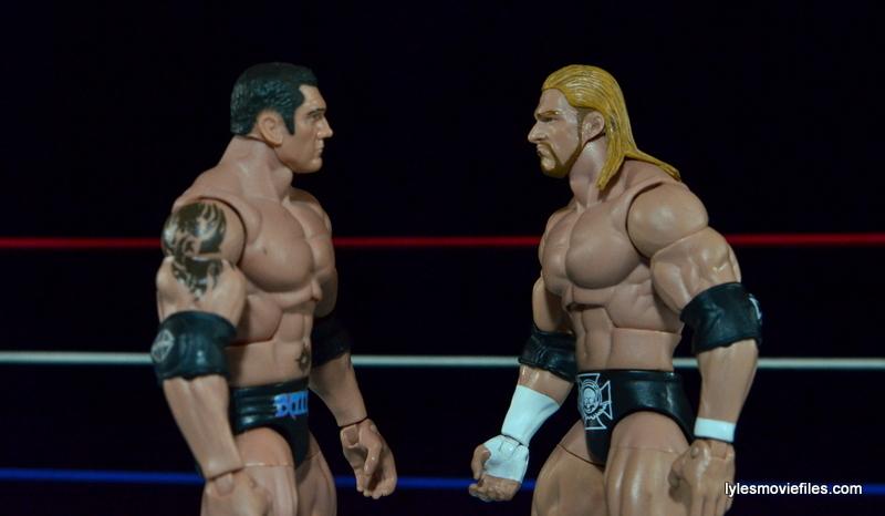 Wrestlemania 21 - Batista vs Triple H - face off