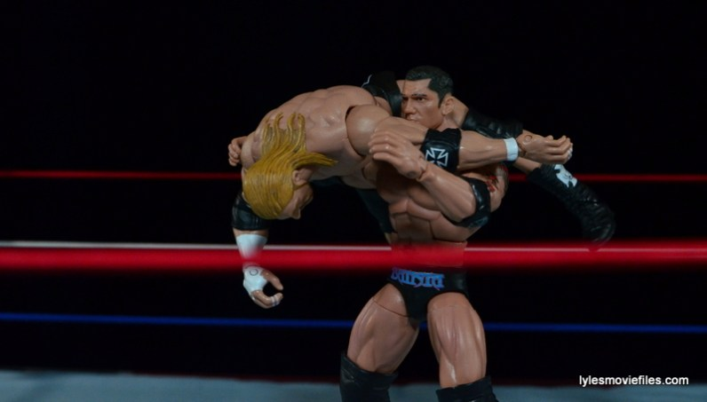 Wrestlemania 21 - Batista vs Triple H -powerslam