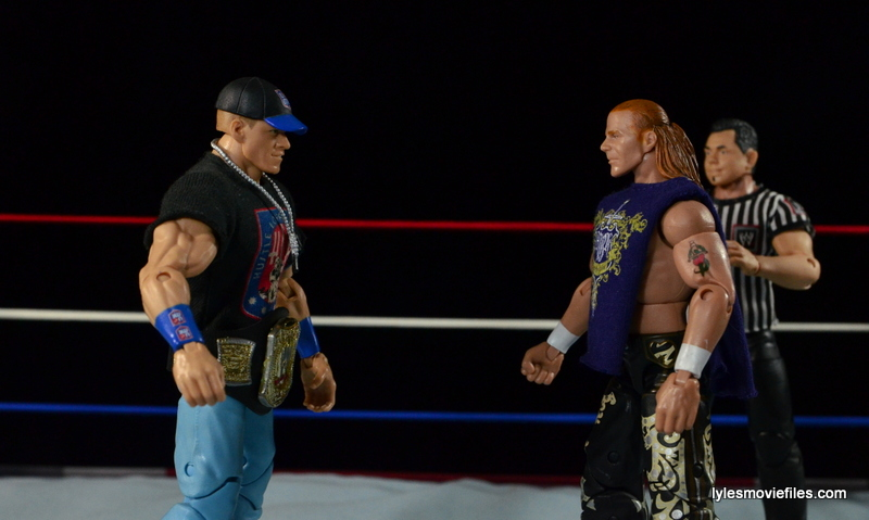 Wrestlemania 23 - John Cena vs Shawn Michaels - face off