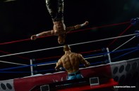 Wrestlemania 23 - John Cena vs Shawn Michaels - moonsault