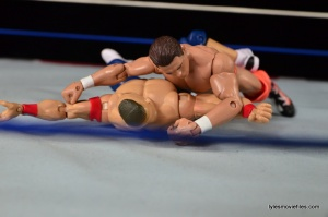 Wrestlemania 27 - The Miz vs John Cena - Miz sneaks out the win