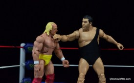 Wrestlemania 3 - Andre chops Hogan