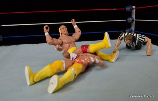 Wrestlemania 5 - Hullk Hogan vs Macho Man - Hogan hits the legdrop