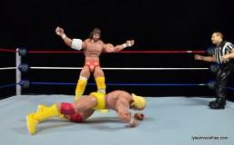 Wrestlemania 5 - Hullk Hogan vs Macho Man - Randy Savage taunting