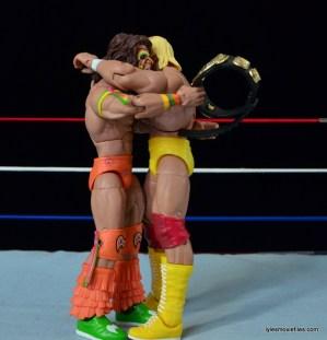 Wrestlemania 6 - Hulk Hogan vs The Ultimate Warrior - Hogan and Warrior hug