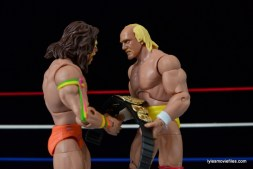 Wrestlemania 6 - Hulk Hogan vs The Ultimate Warrior - Hogan gives Warrior the title