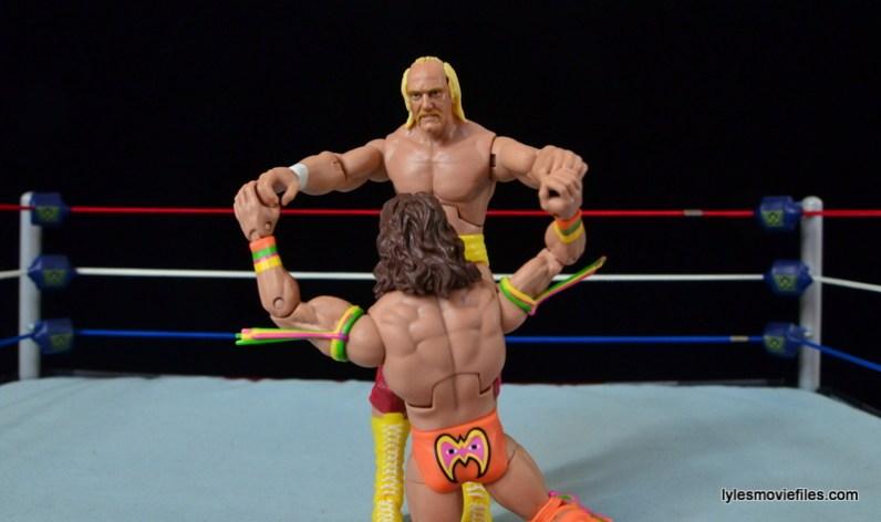 Wrestlemania 6 - Hulk Hogan vs The Ultimate Warrior -Hogan wins test of strength