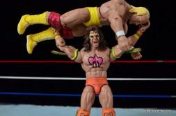 Wrestlemania 6 - Hulk Hogan vs The Ultimate Warrior -Warrior press slams Hogan