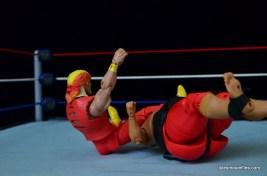 Wrestlemania 9 - Huogan legdrops Yokozuna