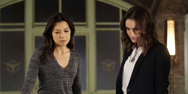 agents of shield - watchdogs recap - may and simmons