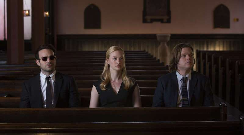 Marvel Netflix TV daredevil - penny and a dime review - matt, karen and foggy_3