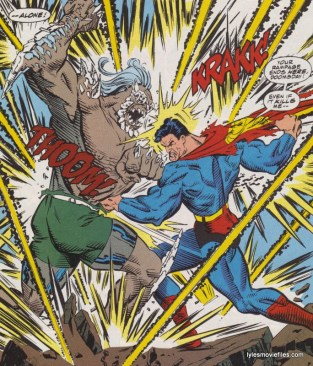 death-of-superman-doomsday vs superman