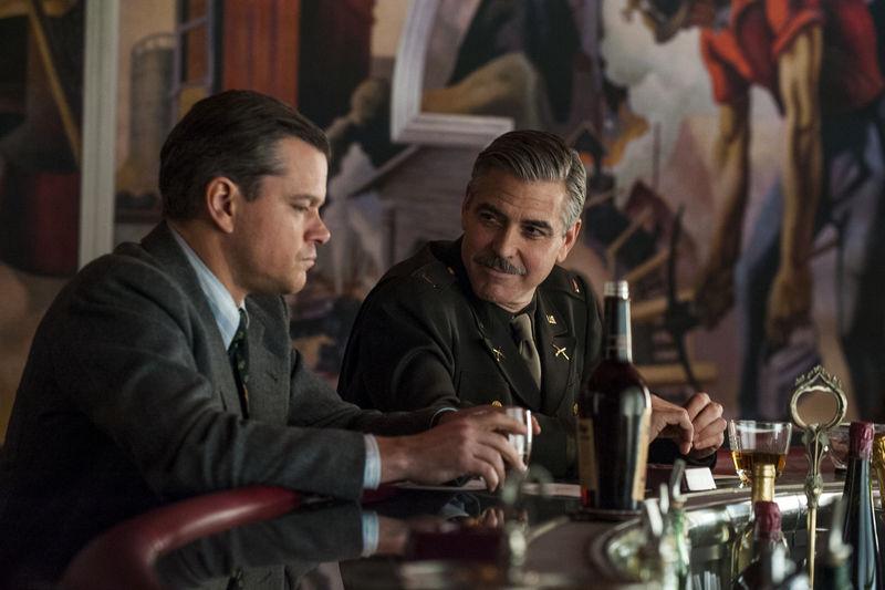 George Clooney;Matt Damon