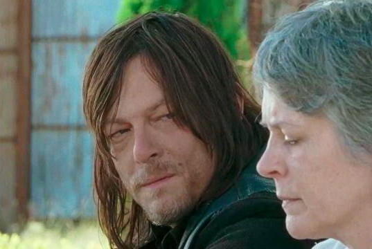 the walking dead twice as far review -daryl and carol