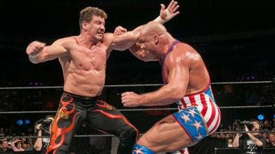 wrestlemania 20 - kurt angle vs eddie guerrero