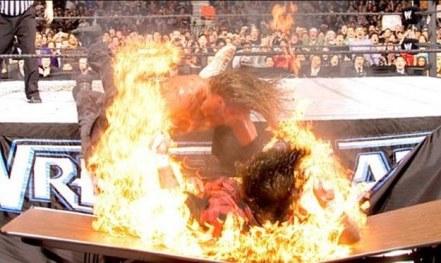 wrestlemania 22 - edge vs foley