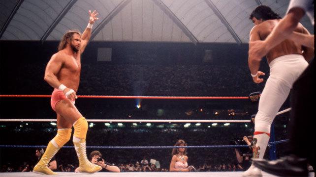 wrestlemania 3 - randy savage vs ricky steamboat