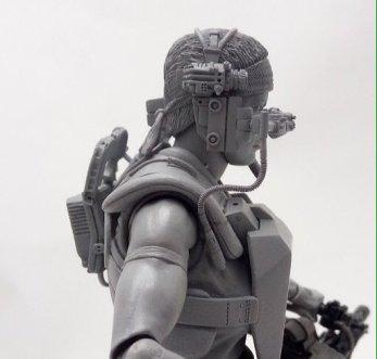 Aliens Lt. Vasquez side sculpt preview