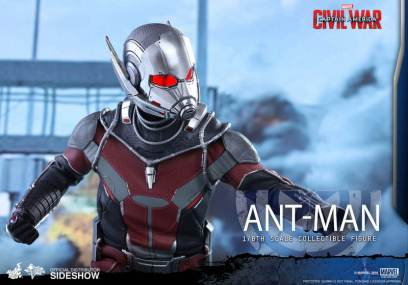 Hot Toys Civil War Ant-Man figure -close up