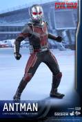 Hot Toys Civil War Ant-Man figure - wide stance