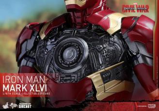 Hot Toys Civil War Iron Man -arc reactor