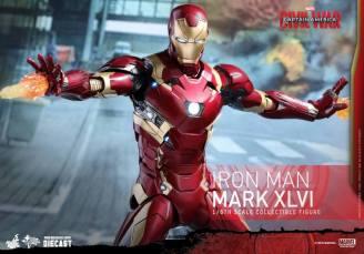 Hot Toys Civil War Iron Man -firing