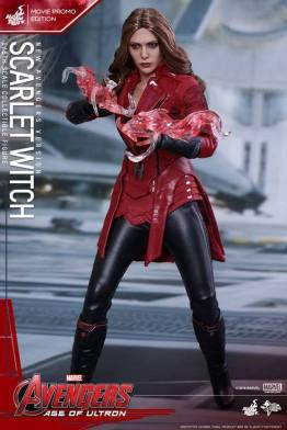 Hot Toys New Avengers Scarlet Witch - power effect