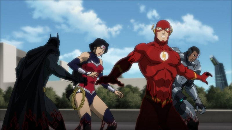 Justice League vs Teen Titans -Justice League Overtaken-min