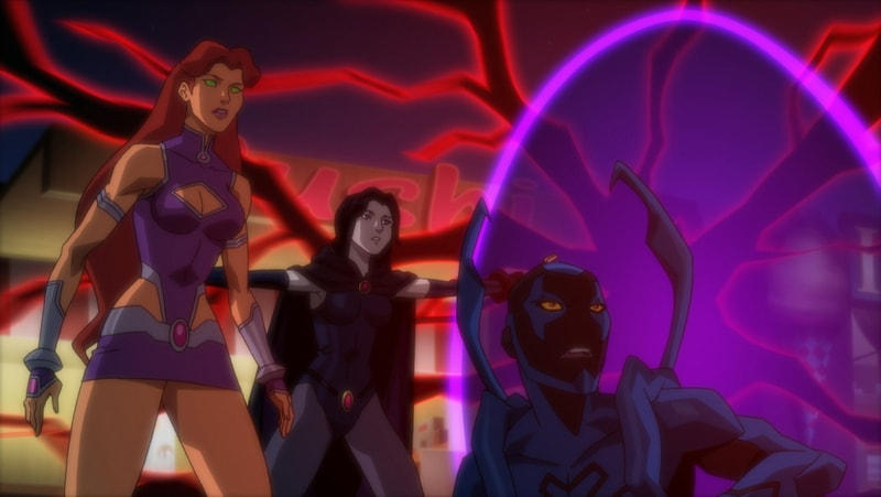 Justice League vs Teen Titans -Shielded-min